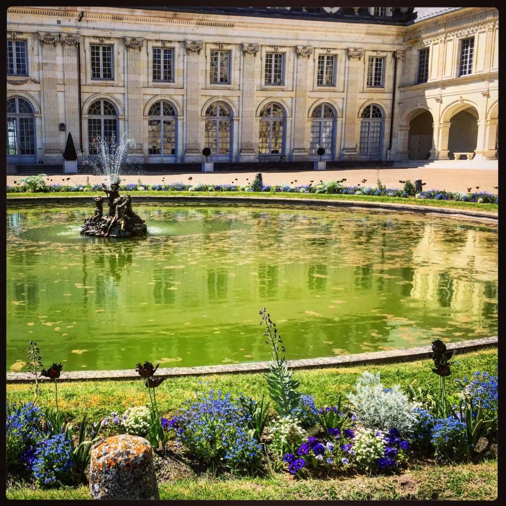 La plus belle fontaine du château de Valençay