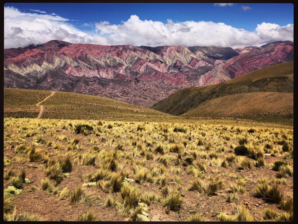 La montagne aux 14 couleurs. El Hornacal !