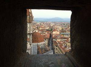 Vue imprenable sur la ville de Firenze