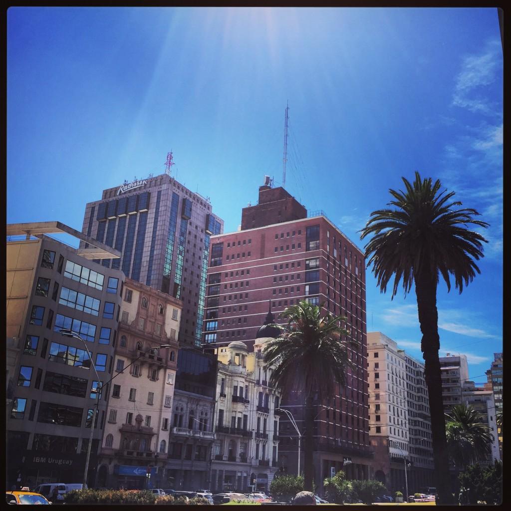 Centre ville de Montevideo.