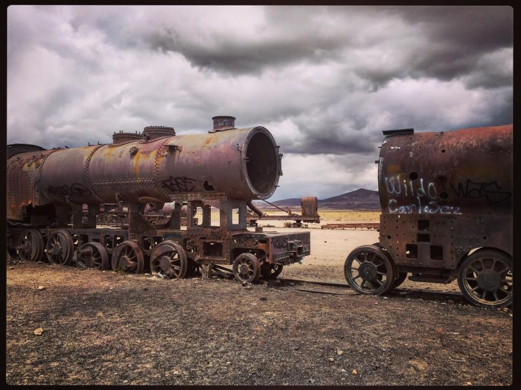 Il était une fois les locomotives à vapeur... Uyuni, Bolivie