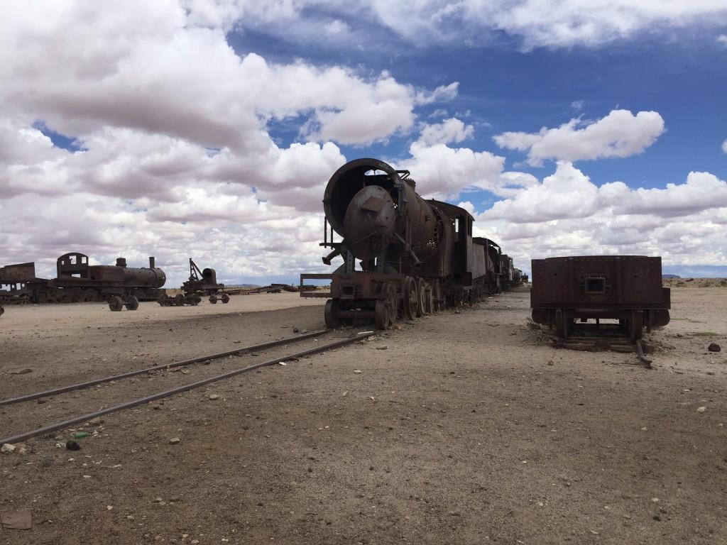 Dernier arrêt pour des locomotives à vapeur dans le sud-ouest d'Uyuni