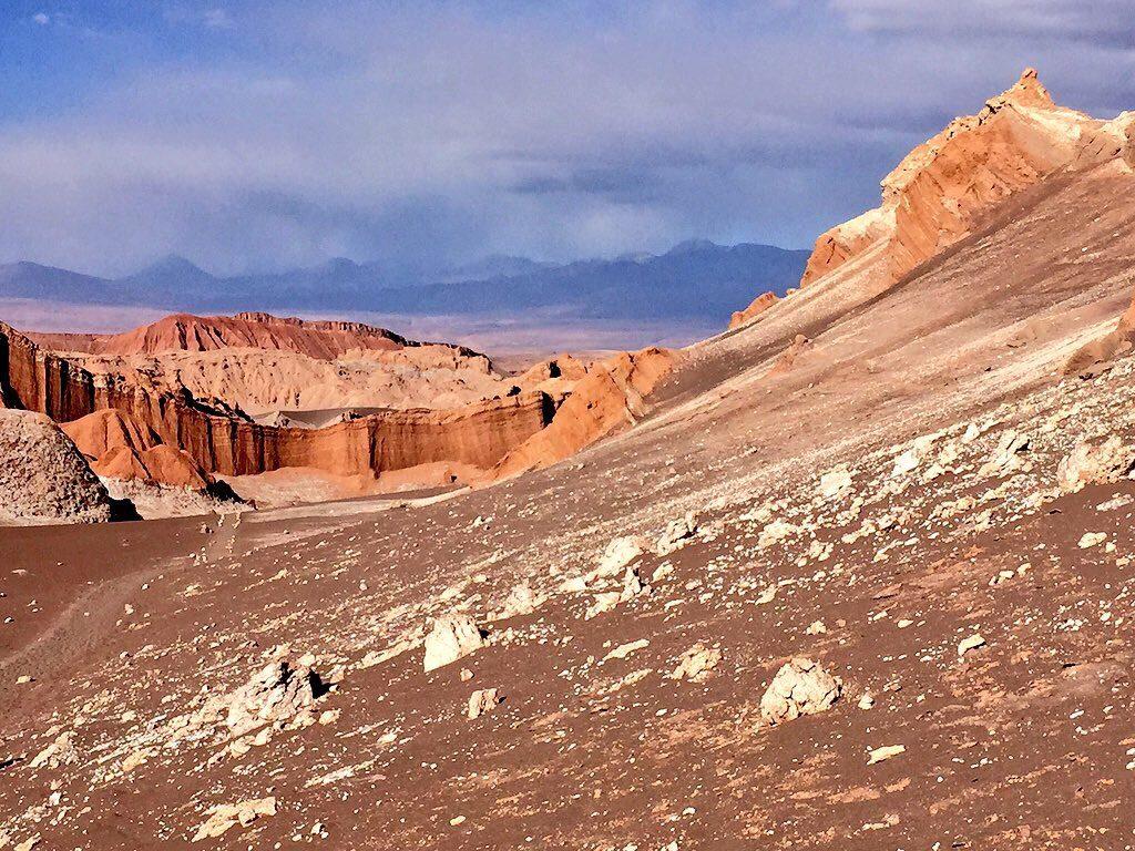 Intrigante vallée de la Lune à San Pedro d'Atacama