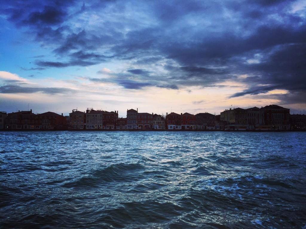 Crépuscule à Venise