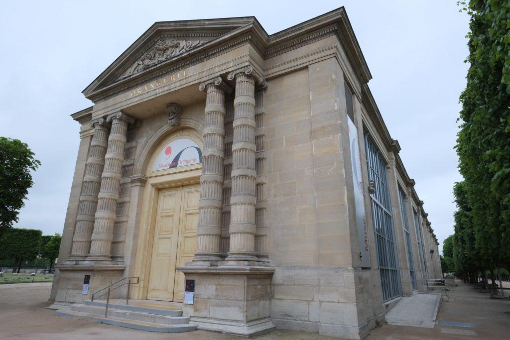 Le musée de l'Orangerie, un lieu très visité en France