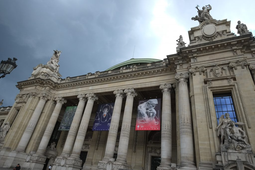Les galeries nationales du Grand Palais à Paris