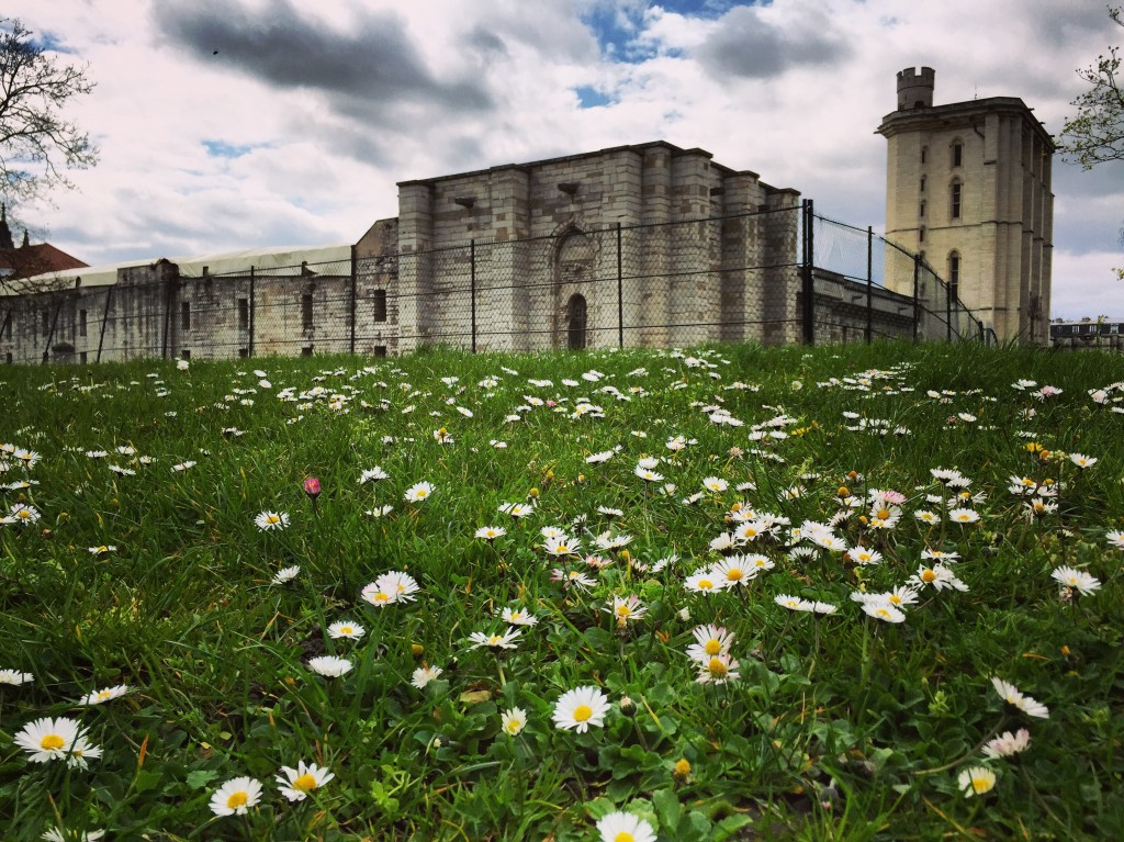 Les remparts du château de Vincennes