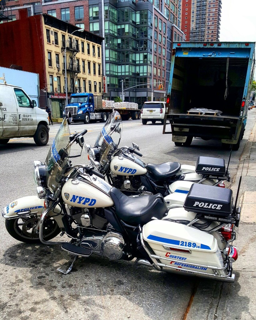 New York Police, en moto