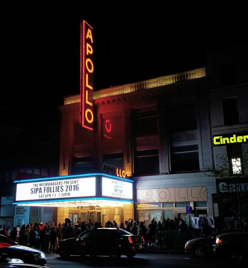 Apollo, New York la nuit