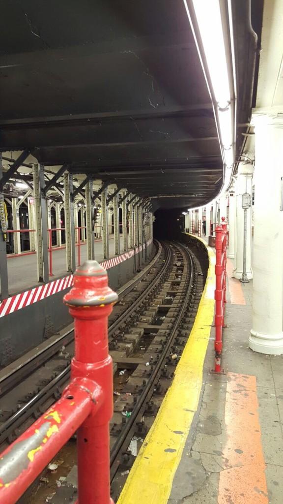 Une station de métro New Yorkaise