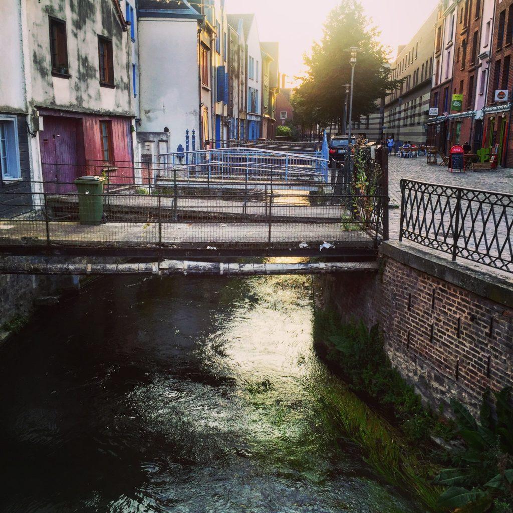 Le quartier Saint-Leu à Amiens