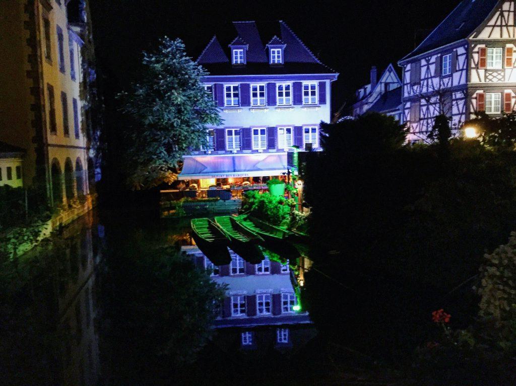La petite Venise de nuit, Colmar
