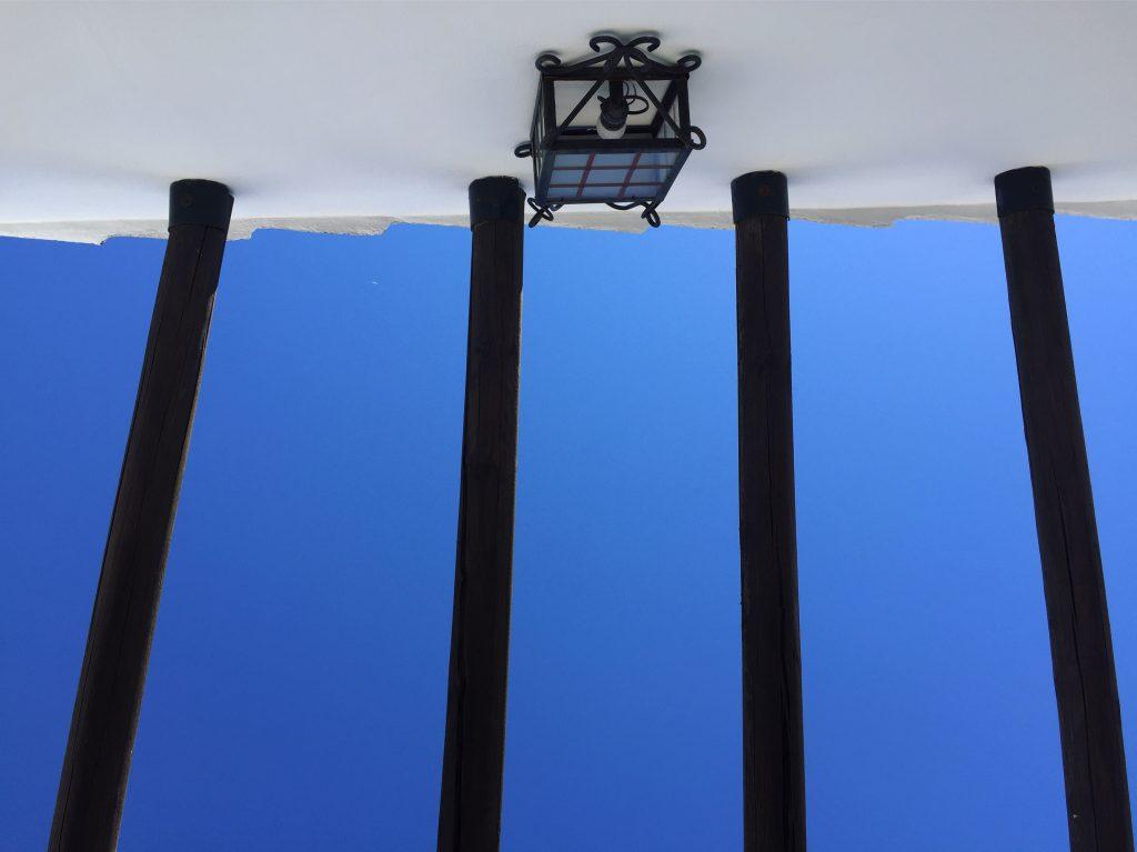 Un ciel bleu et sans aucun nuage, c'est aussi cela l'Andalousie
