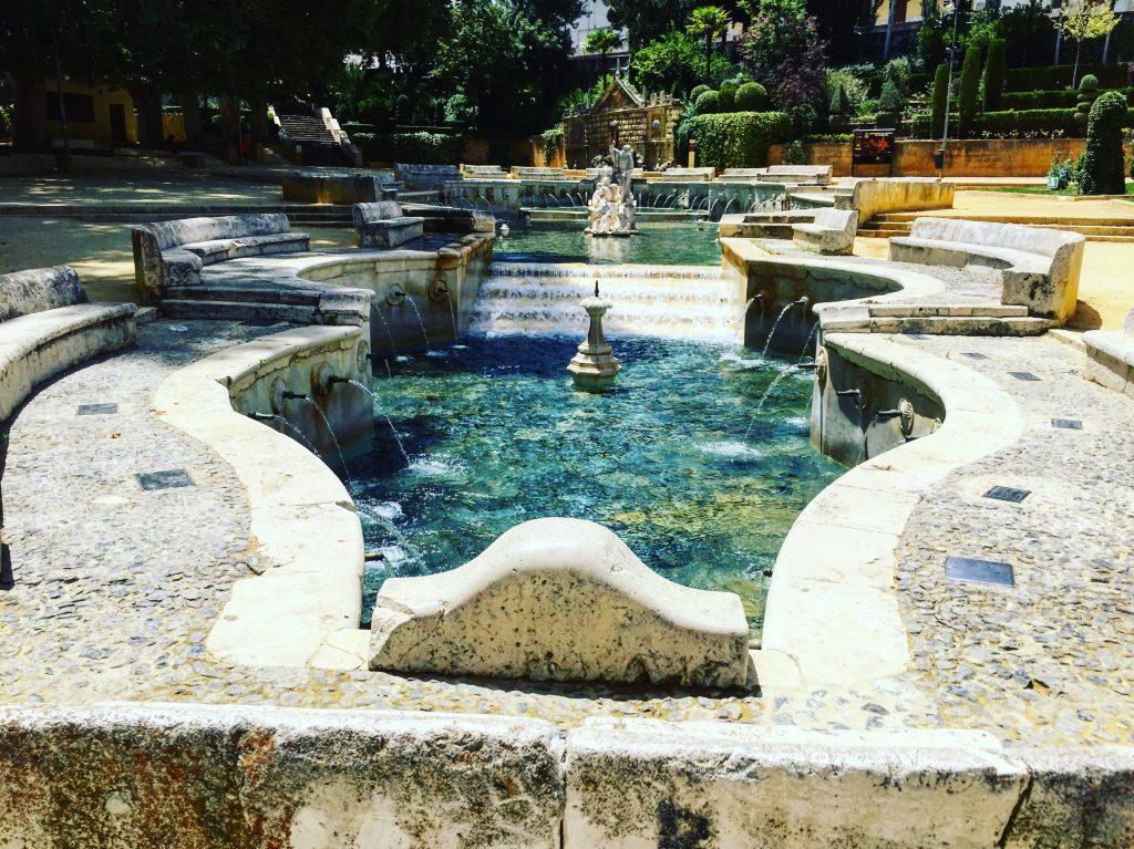 La fontaine du Roi à Priego
