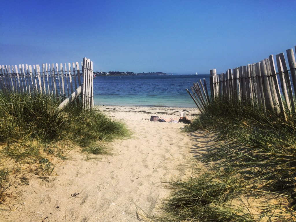 Balade à la découverte des plages de la pointe de Kerpenhir