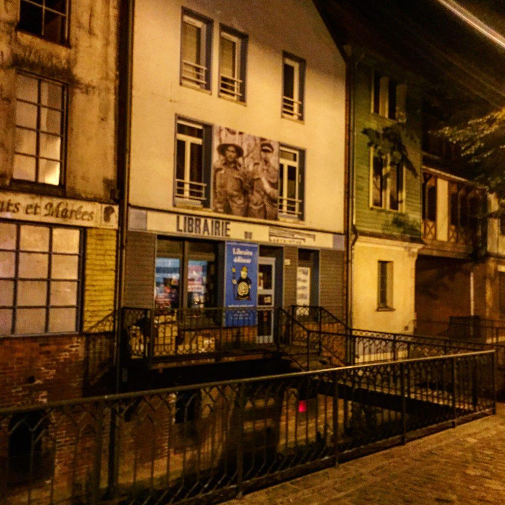 Le quartier Saint-Leu la nuit