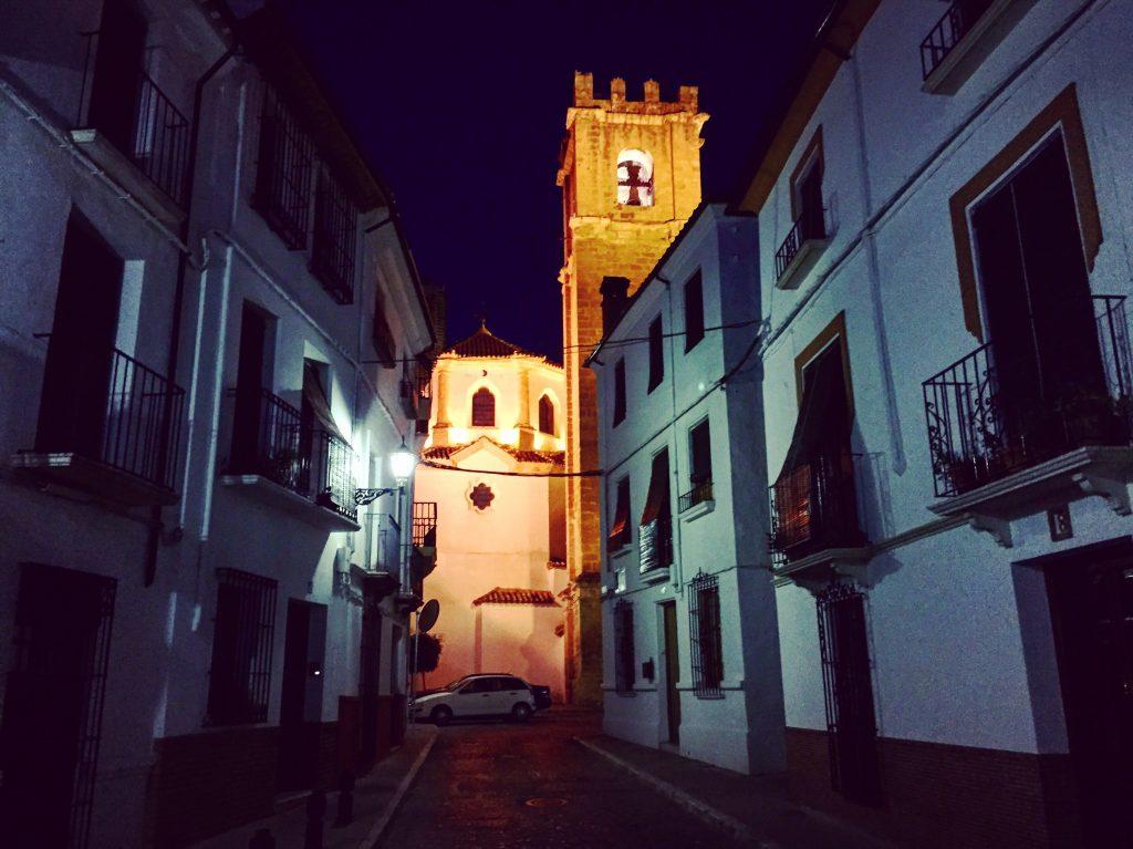 Priego de Córdoba la nuit