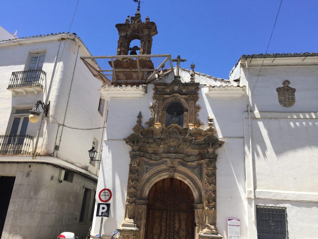 L'une des très jolies églises de Priego de Córdoba
