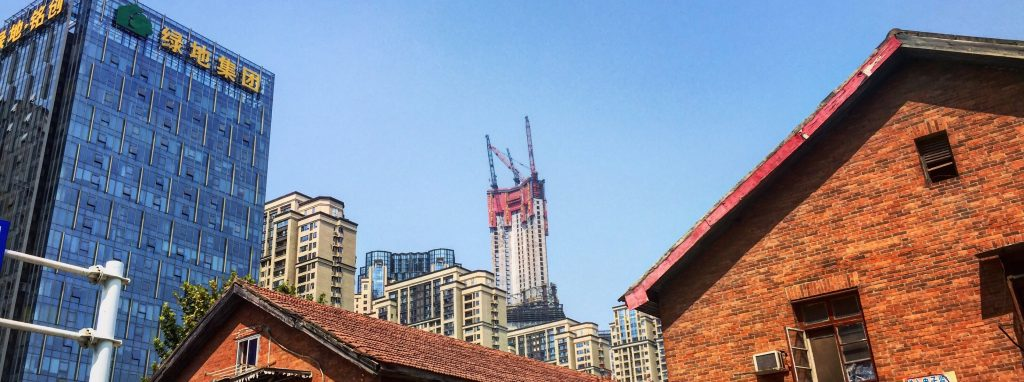 Une nouvelle tour géante émerge dans la ville de Wuhan