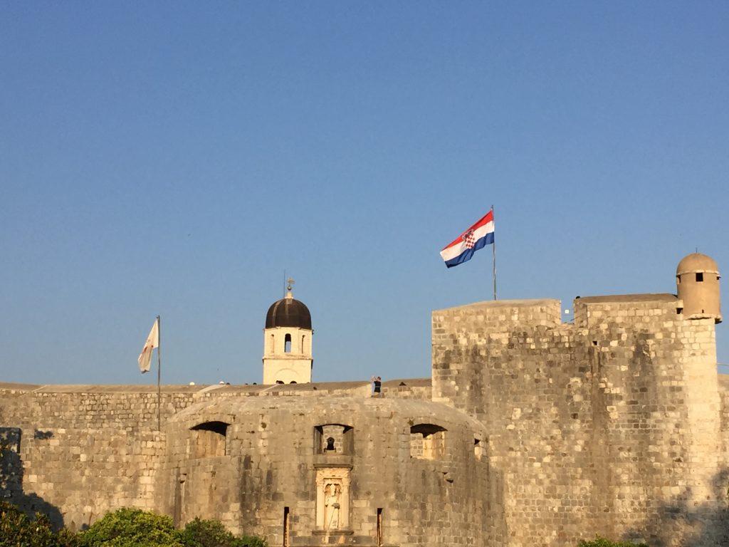 La vieille ville fortifiée de Dubrovnik