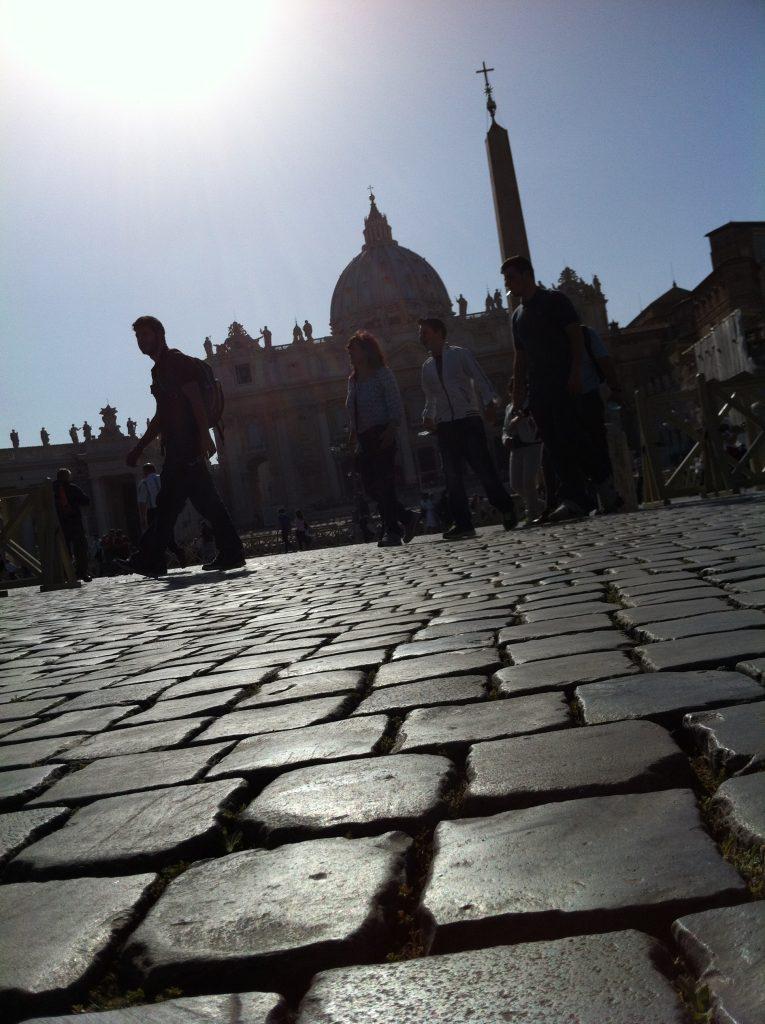 Place Saint-Pierre à Rome