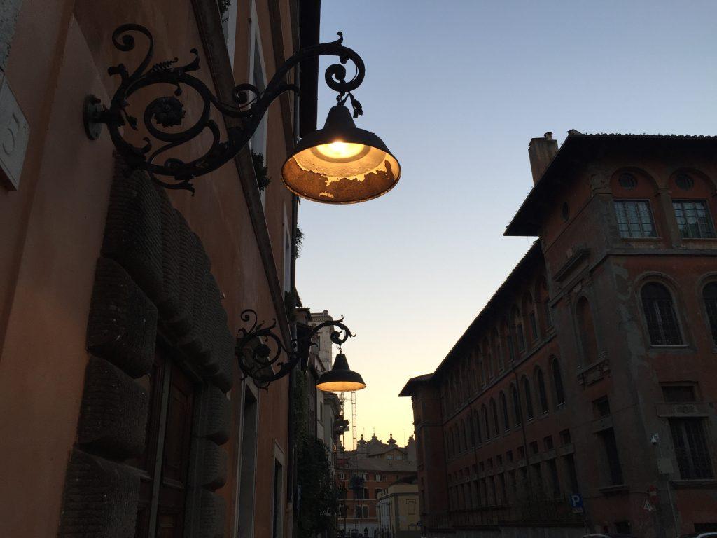 Rome au crépuscule, j'adore