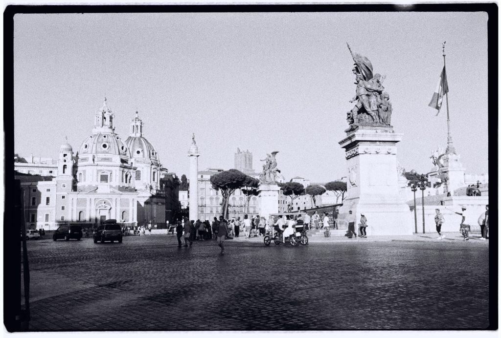 La belle ville de Rome en été