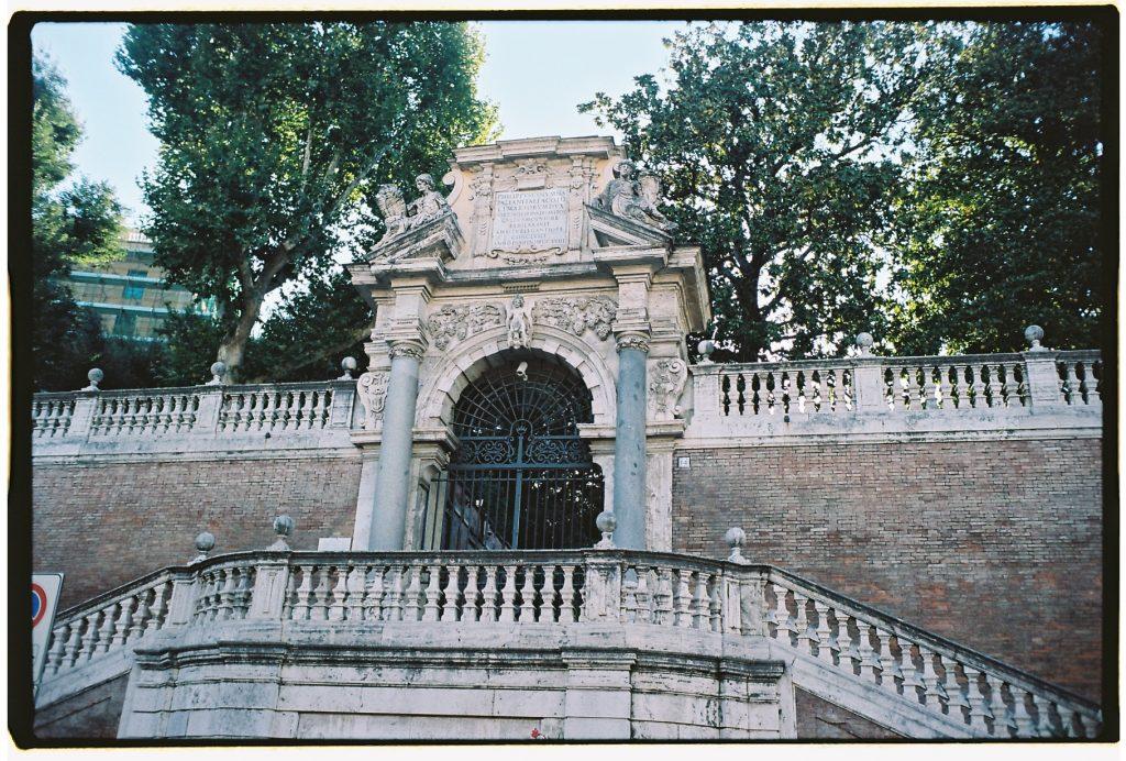 Rome entre parcs, jardins et hôtels particuliers