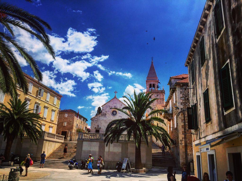 Supetar une superbe ville croate