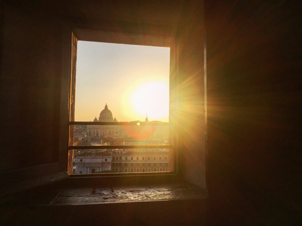 Rome et le Vatican sous le soleil