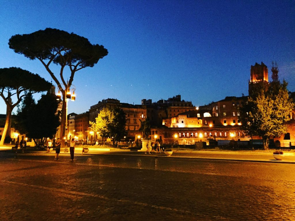 Rome et la nuit