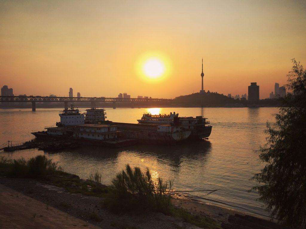 Sur les rives du Yang Tsé Kiang