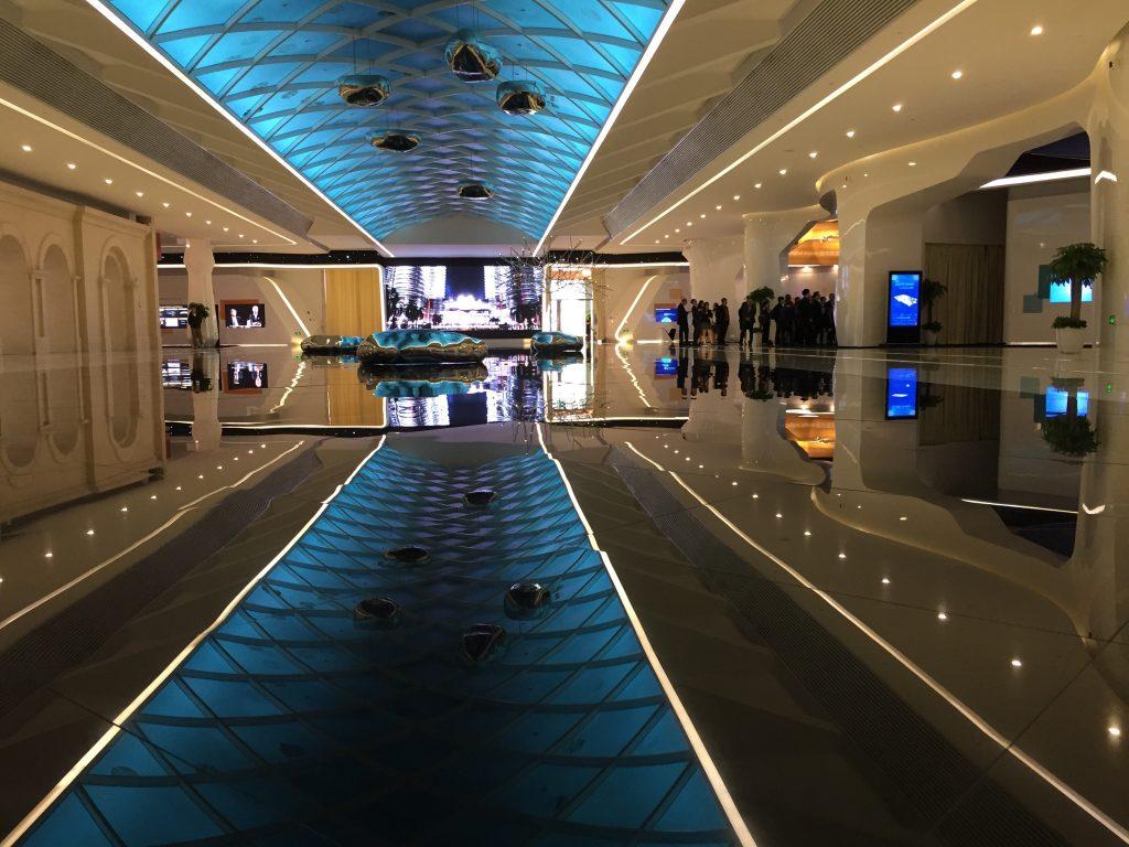 Le showroom de Huawei à Hangzhou