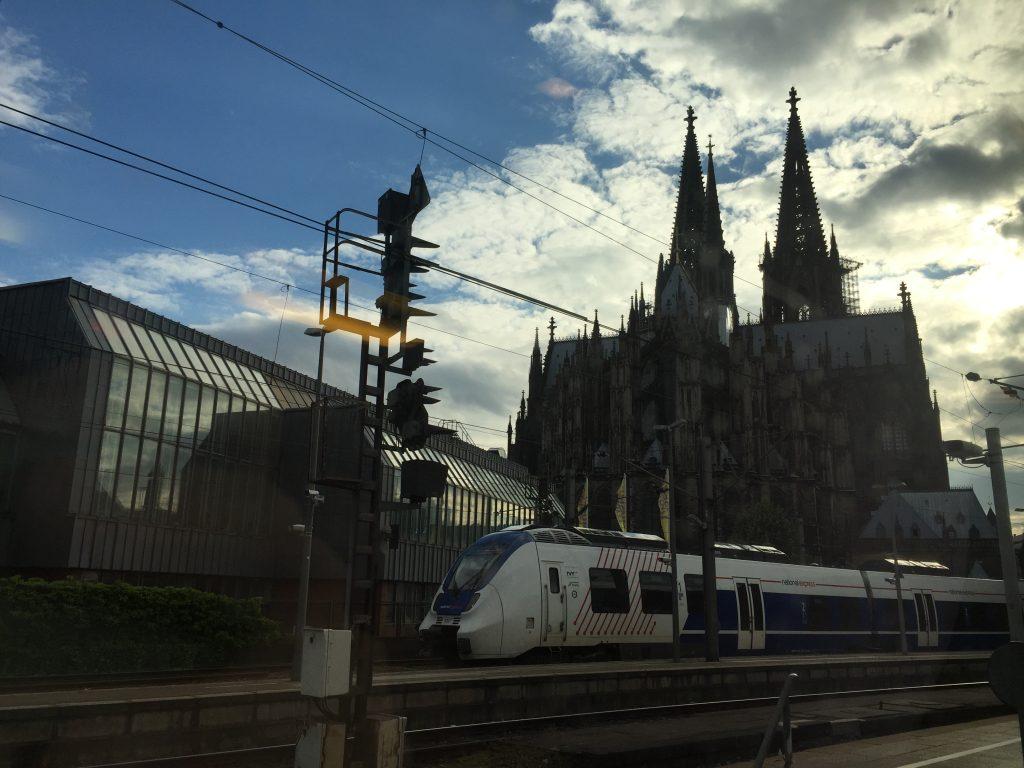 La fameuse cathédrale de Cologne