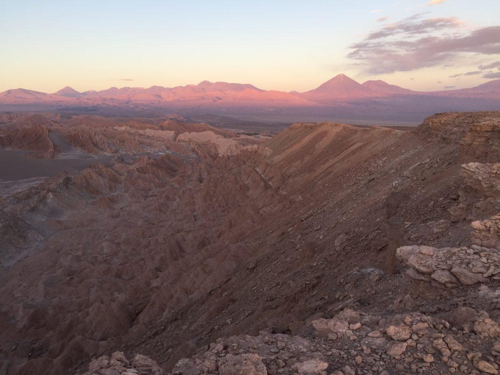 La vallée de la mort au Chili