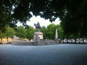 Une place à Stuttgart