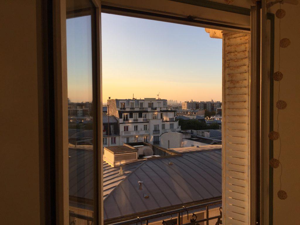 Paris vu de ma fenêtre