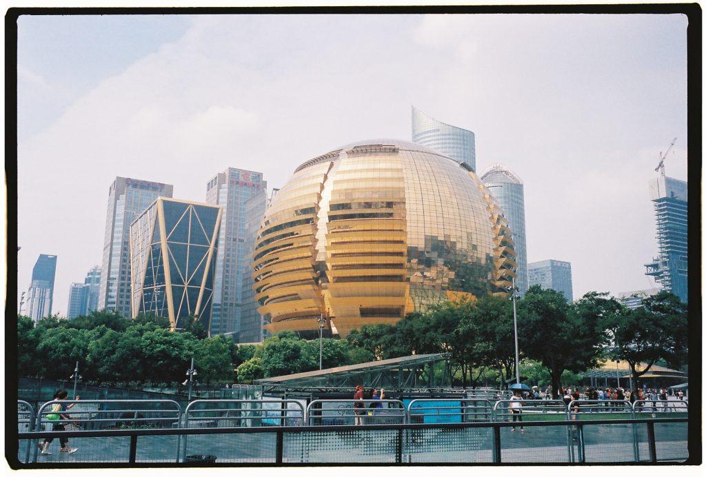 Une architecture moderne et audacieuse à Hangzhou