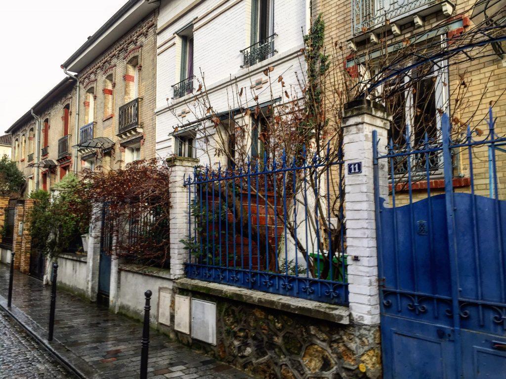 Les petites maisons ouvrières de la Villa Daviel, Paris XIII