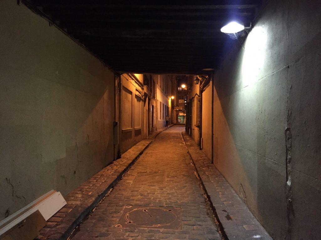 Le Passage du Chantier dans le XII