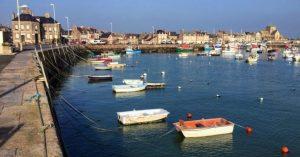 Barfleur et son petit port de pêche
