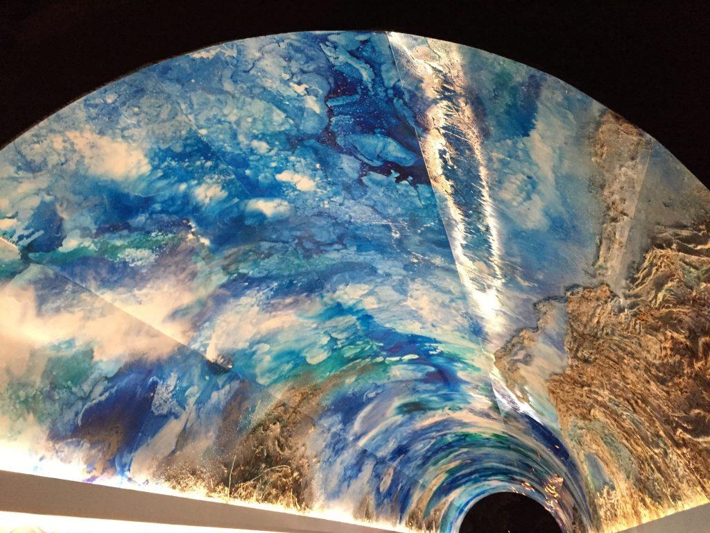 Dans un tunnel à Donostia, San Sebastian