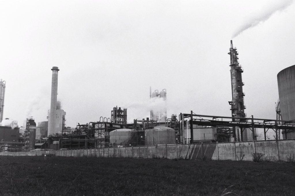 Un monde industriel aux portes de la ville de Rouen