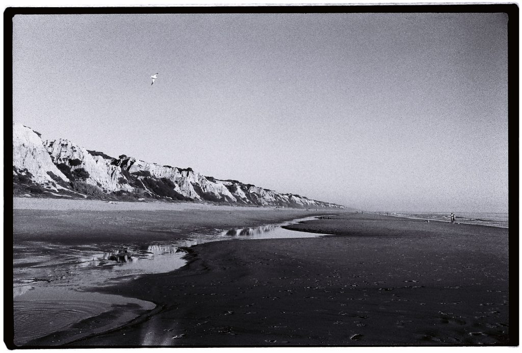 Une plage vierge dans le sud de l'Andalousie