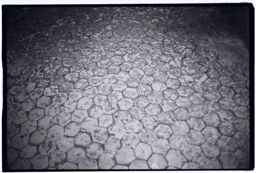 Usure des sols à Chambord