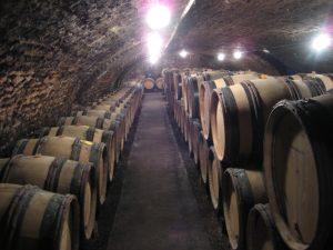 Dans les caves de la Maison Ropiteau à Meursault, route des grands crus Bourgogne