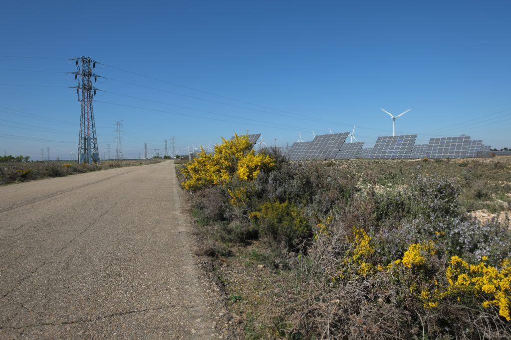 Production électrique sous le soleil en Espagne
