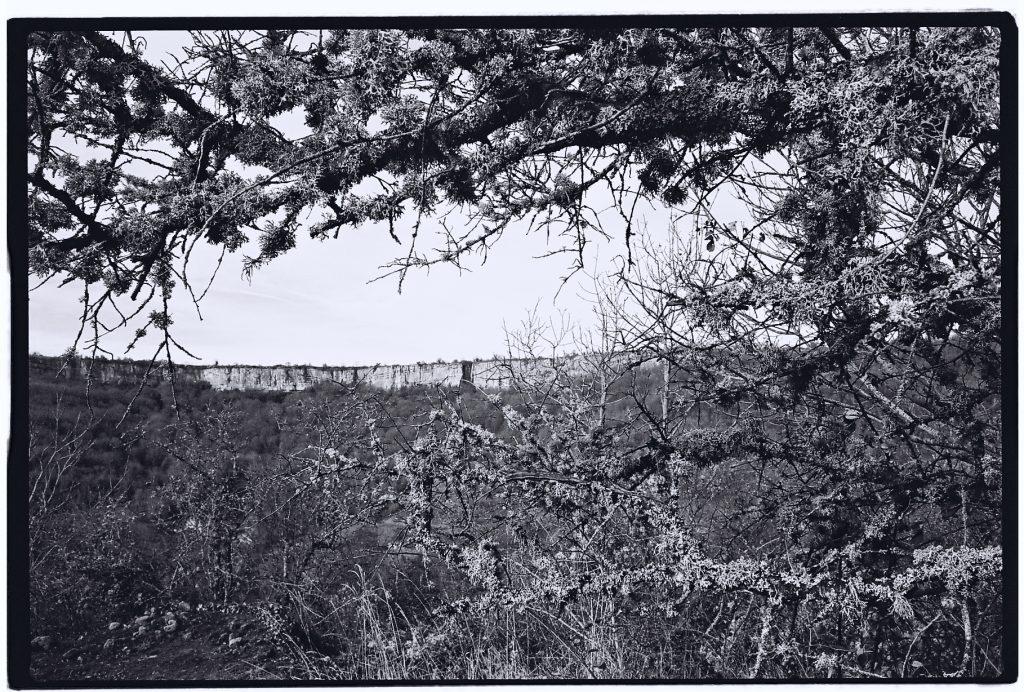 Vue sur les falaises de Saint-Romain