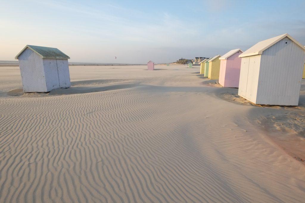 Des petites cabanes du bonheur pour le temps d'un été. Berck sur mer