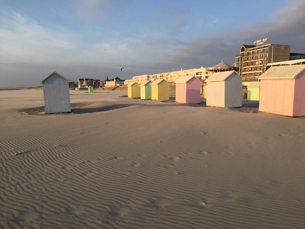 La jolie plage de Berck sur mer
